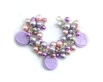 Cheeky Hello Kids Charm Bracelet