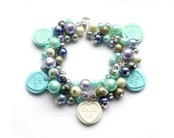 Call me, I like you - Charm Bracelet