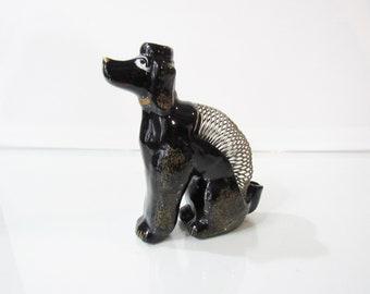 Dachshund Dog Black Metal Napkin or Letter Holder *NEW*