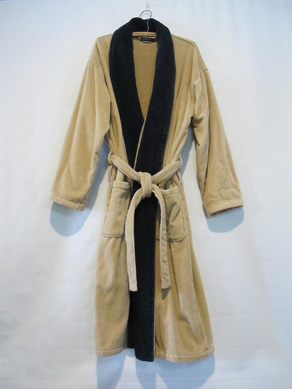Beige Terry Cloth Cotton Robe - Polo Ralph Lauren