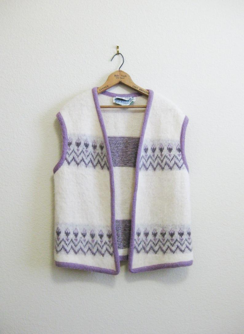 Pringle Scottish Wool Vest Large Made in Iceland