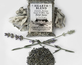 HEARTH BLEND // Loose Smudging Incense