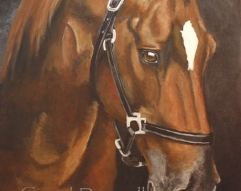 """Custom Painting of YOUR pet 16""""x20"""""""