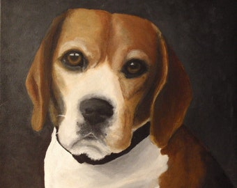 "12""x12"" Custom Painted Portrait of YOUR pet"