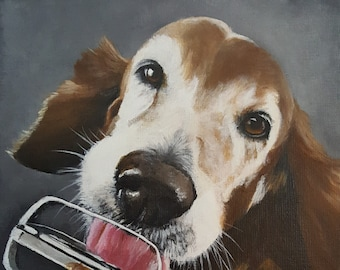 "11""x14"" Custom Pet Portrait"