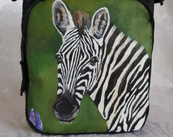Custom Eddie Bauer Compact Crossbody Bag with YOUR Pet's Portrait