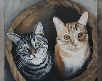 """8""""x8"""" Custom Painting of YOUR pet"""