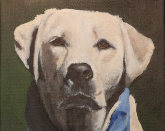 "6""x6"" Custom Painting of YOUR pet"