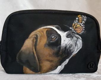 Custom Painted Belt Bag with YOUR Pet's Portrait