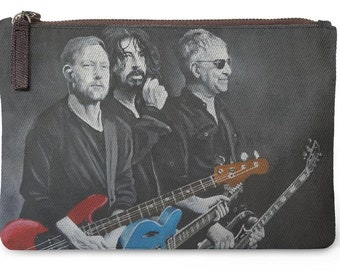 Foo Fighters Carry All Pouch Printed with 'The Originals', my painting