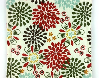 Frost On The Flowers - Pot Holders (Set of 2)