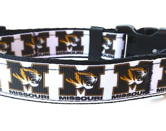 University of Missouri Tigers Dog Collar
