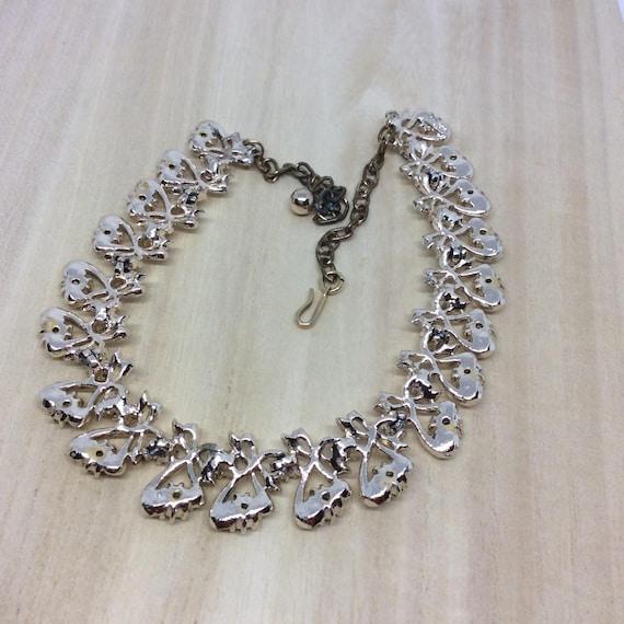 Vintage set Signed ART necklace set - image 4
