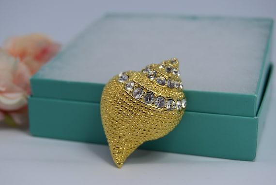 KJL Seashell brooch KJL pendant