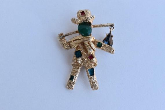 Florenza brooch Jewelry vintage gift Brooch repair