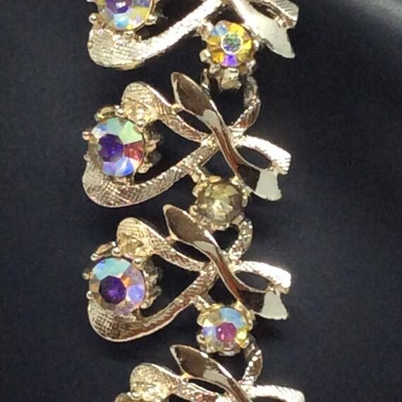Vintage set Signed ART necklace set - image 10