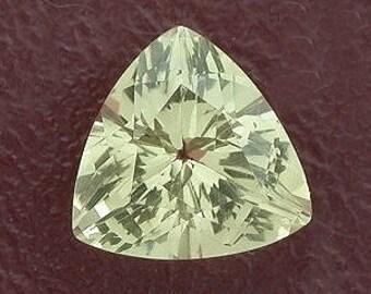 10mm trilliant trillion citrine gem stone gemstone