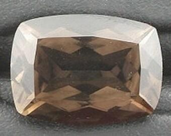14x10 cushion smoky quartz gem stone gemstone