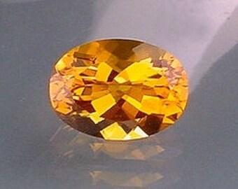 18x13 oval madeira color quartz gem stone gemstone