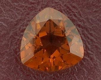 10mm trilliant trillion madeira color quartz gem gemstone