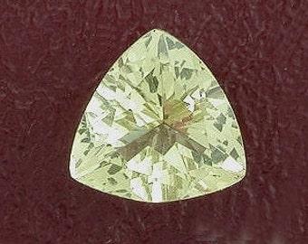 8mm trilliant trillion citrine gem stone gemstone