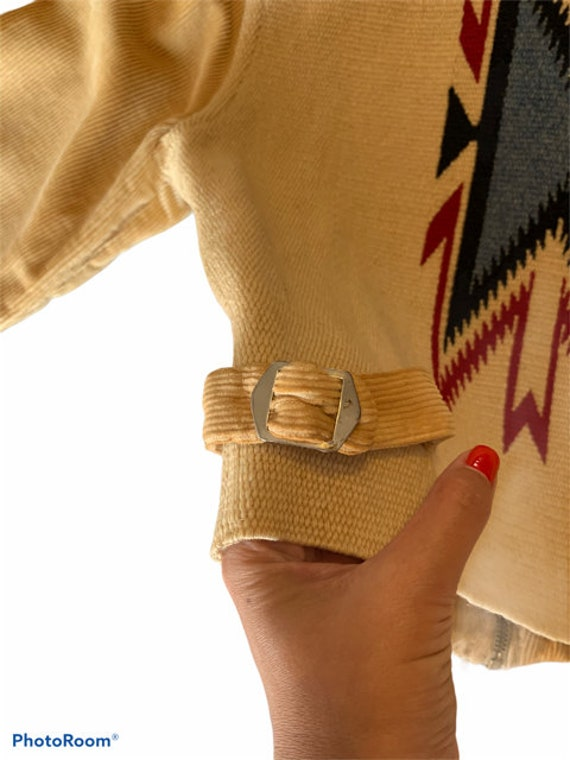 Vintage 1930's La Azteca Sportswear Chimayo jacket - image 3