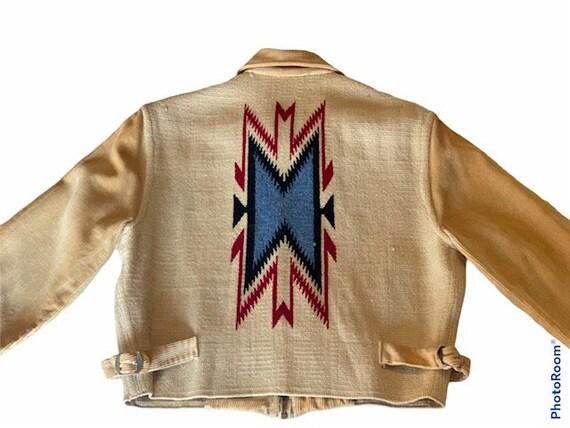 Vintage 1930's La Azteca Sportswear Chimayo jacket - image 2