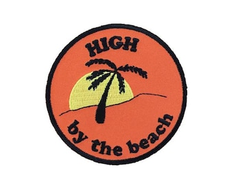 High by the Beach Patch - ALL PROCEEDS DONATED to The Innocence Project