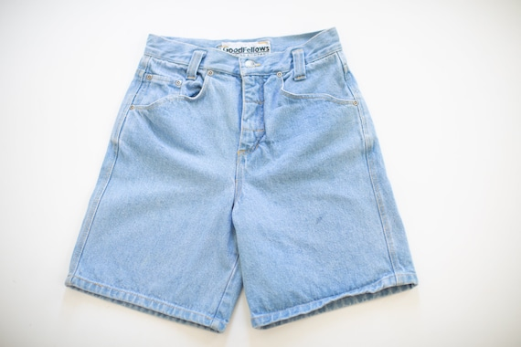Mom jean shorts- Vintage shorts JEAN shorts high w