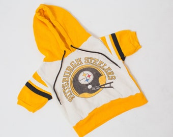 Vintage PITTSBURGH STEELERS sweatshirt kids vintage sweatshirt 2y 3y 1980s 1970s FOOTBALL fan sportswear kids jersey boys 80s hoodie girls