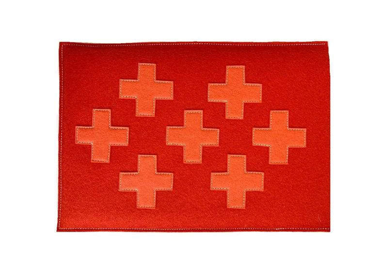 Criss Cross Laptop Sleeve Mango