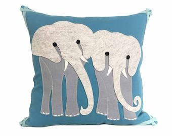 Elephant Safari - Teal