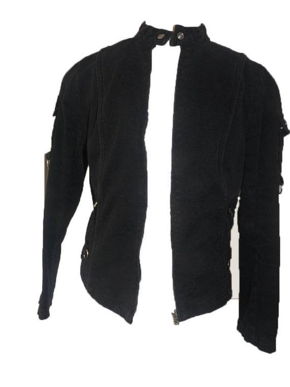 Steampunk black jacket size1 Tripp danaag zipper
