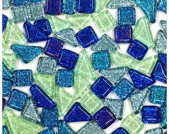 """500 Ruby Red Cathedral 1//2/"""" SquaresHand Cut Glass Mosaic TilesFusible 96"""