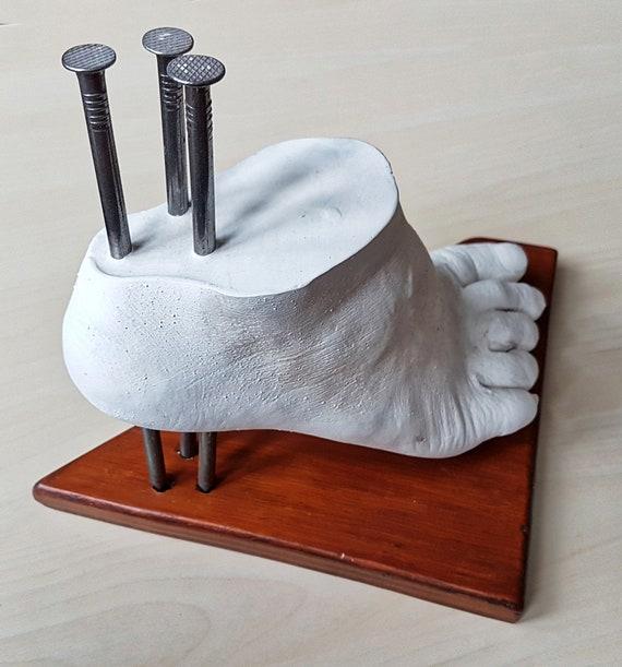 Gips fuß Fuß gebrochen