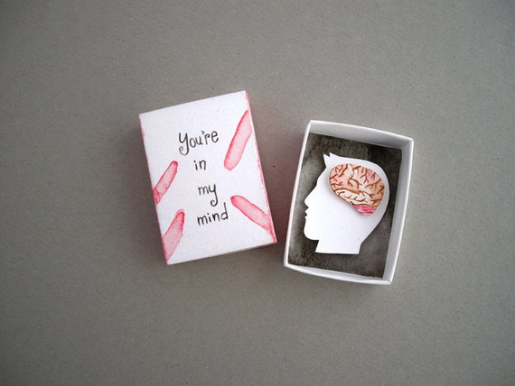 Diorama de papel arte de la caja de cerillas en mi mente   Etsy