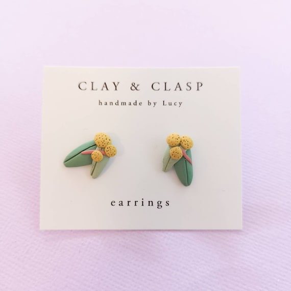 Wattle Earrings