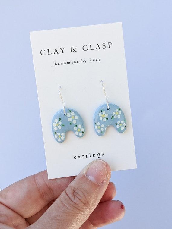 Abstract dangle earrings