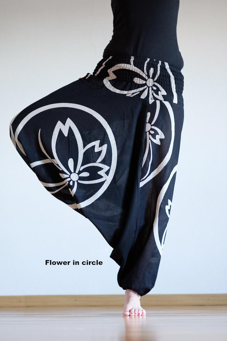 Cloud Harempants Flower Flower in circle