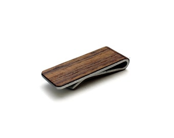 TIMBER Wood Skin Money Clip