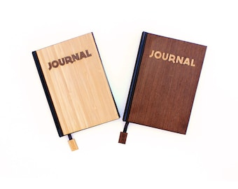 TIMBER Wood Skin Journal: INLAY Limited, Free US Shipping