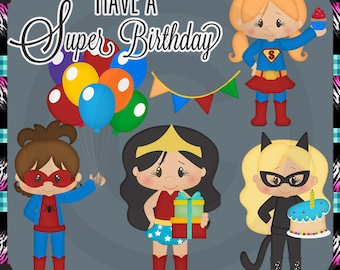 Super Kids Birthday 2018 Girl Celebration