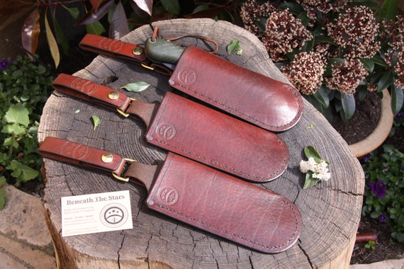 Leather custom made sheath for Bahco Laplander Saw /& Silky Gomboy 210 /& 240