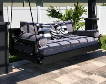 "Ridgidbuilt Contemporary Bed Swing , ""For that Modern ,Sleek look"""