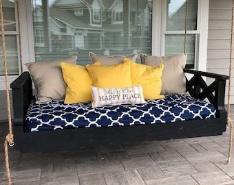 Custom built bed swings, Patio swing , Daybed swing , Porch bed swing,Free shipping included