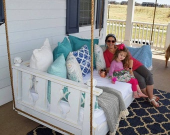 Ridgidbuilt New Orleans bed swing , Comes with rope and your favorite color of choice Special rates to Atlanta Ga and Birmingham Al