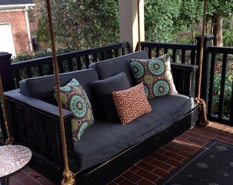 """Custom built Daybed Swings , Farm Tables and More . """"Save 10% by pinning 3 of my shop items to your Pinterest and sending me the link !! """""""