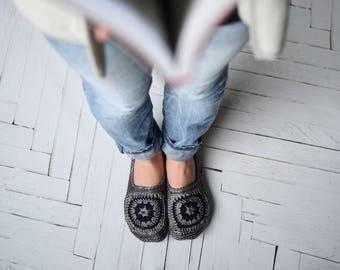 Stellaire | Crochet Slippers | Pattern #48
