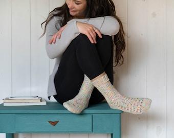 Elwing | Crochet sock pattern by Mëlie