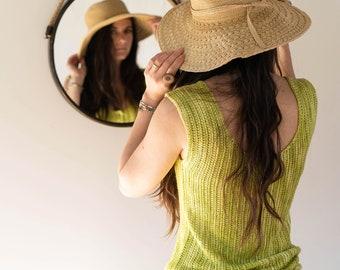 Rosemary | Crochet tank top pattern